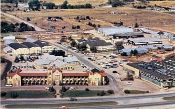 Alexander Film Company aerial photo