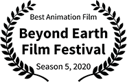 Best Animation Film, Beyond Earth Film Festival 2020