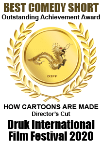 Outstanding Achievement Award, Best Comedy Short, Druk International Film Festival, 2020