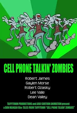 Cell Phone Talking Zombies poster